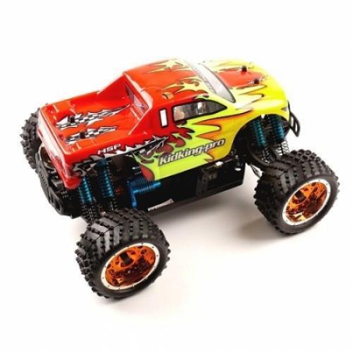 Радиоуправляемая машина монстр HSP Electric Off-Road KidKing PRO 4WD 1:16 2,4G 94186PRO (25 см)